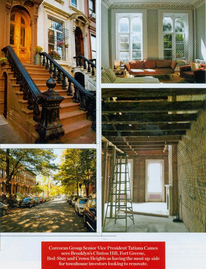 Townhouse Renovation Romance With A Little Bit Of Risk Can Come Much Reward