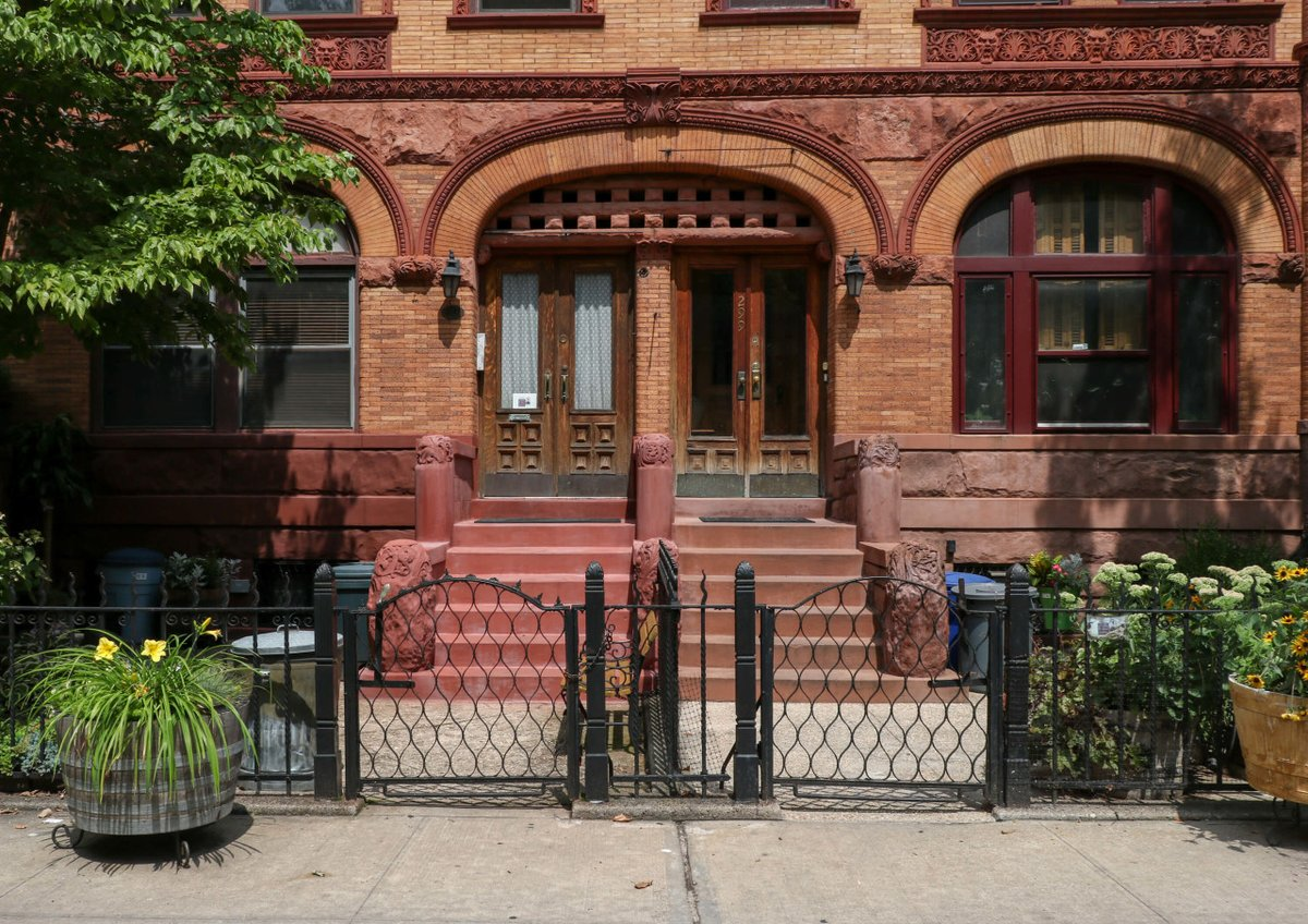 The Fanciful Bed Stuy Row Houses of a Little Known Architect  …