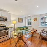 103 Saint James Place, Kitchen and Living Room | Townhouse Therapy
