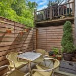 103 Saint James Place, Backyard Garden | Townhouse Therapy