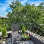 103 Saint James Place, Balcony | Townhouse Therapy