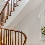 103 Saint James Place, Hallway Stairway | Townhouse Therapy