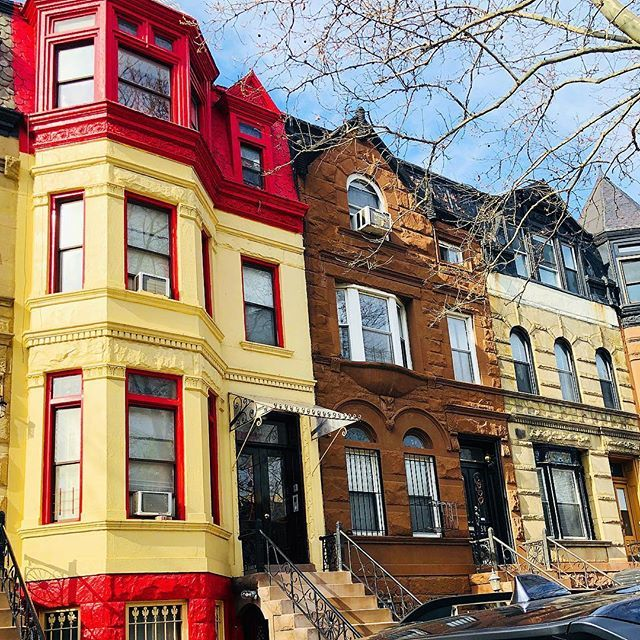 Brighten up your block #townhousetherapy#townhouse#browstone #renovation#realest…