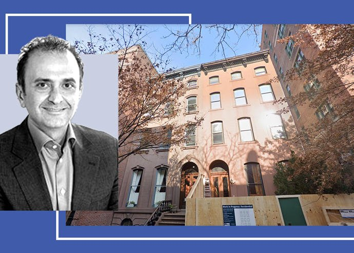 Pharma investor Behzad Aghazadeh paid $16 million for a Brooklyn Heights townhou…